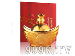 53°土豪金元宝酱酒500ml