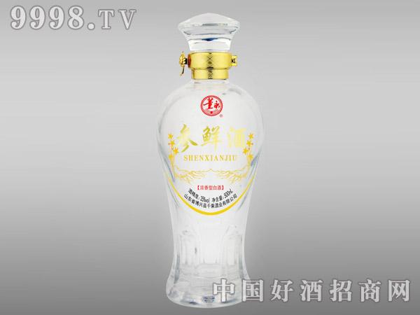 参鲜酒35°500ml(圆瓶)