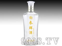 参鲜酒35°500ml(白瓶)