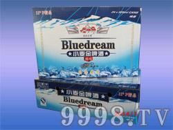 11度小麦金啤酒蓝箱
