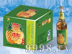 菠萝果味啤500ml塑包、箱装