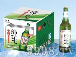 纯生啤酒500ml塑包、箱装