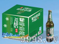 雪啤冰纯啤酒500ml塑包、箱装