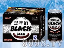 酒立方黑啤酒500ml×24/12(易拉罐装)