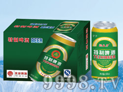 酒立方特制啤酒500ml×24/12(易拉罐装)