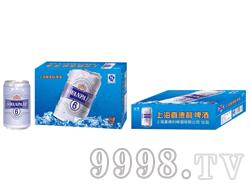 上海喜德利啤酒(6号浅蓝色罐)