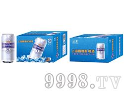 上海喜德利啤酒(6号浅蓝色罐)大