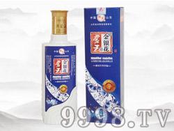 蒙王金银花酒(蓝盒)