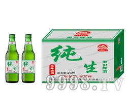 夜场啤酒招商 330毫升纯生啤酒灰