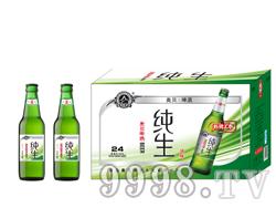 夜场啤酒招商 330毫升青岛奥贝纯生啤酒