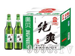 500毫升啤酒招商 纯爽啤酒