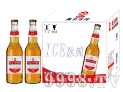 500毫升啤酒招商 银红流通大瓶冰纯啤酒