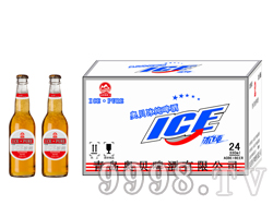 330毫升夜场啤酒低价位招商 奥贝冰纯啤酒红
