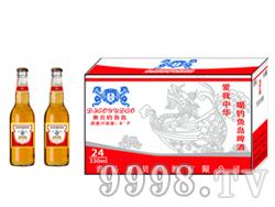 330毫升夜场啤酒低价位招商 奥贝钓鱼岛啤酒红