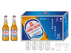 330毫升夜场啤酒低价位招商 奥贝精品啤酒蓝