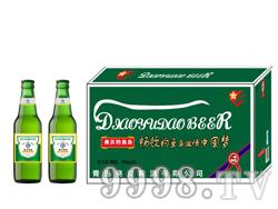 330毫升夜场啤酒低价位招商 奥贝钓鱼岛啤酒绿