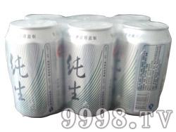 圣水泉纯生啤酒