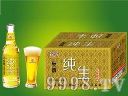 崂山泉330ml白哈瓶至尊纯生(1X24)