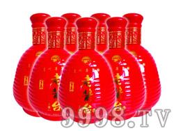 百年老酱台土酱酒红瓶