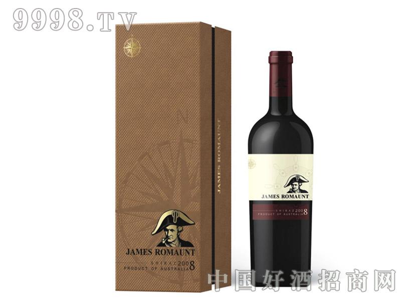 詹姆士传奇2008西拉干红葡萄酒