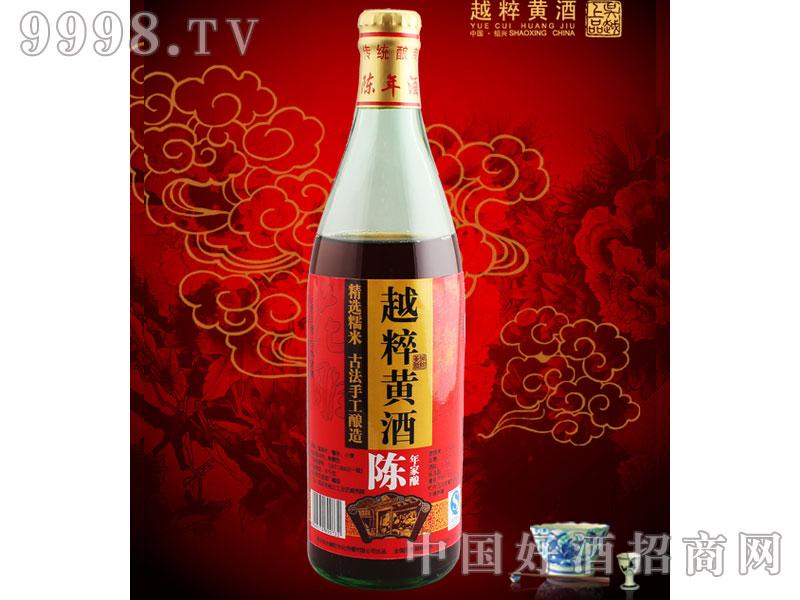 越粹陈年花雕酒(圆瓶)