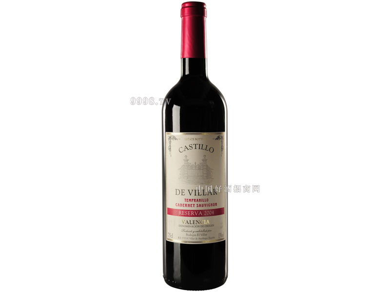 古堡2004高级陈酿红葡萄酒
