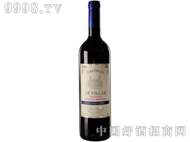 古堡2005陈酿红葡萄酒