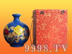 景瓷蓝花坛酒