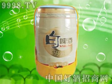 澳德旺5L桶白啤