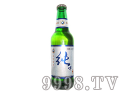 纯啤精制啤酒