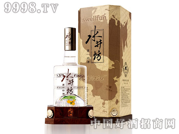 43度地球瓶水井坊国际商务装-白酒招商信息