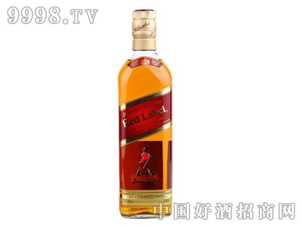 40°英国尊尼获加红方威士忌