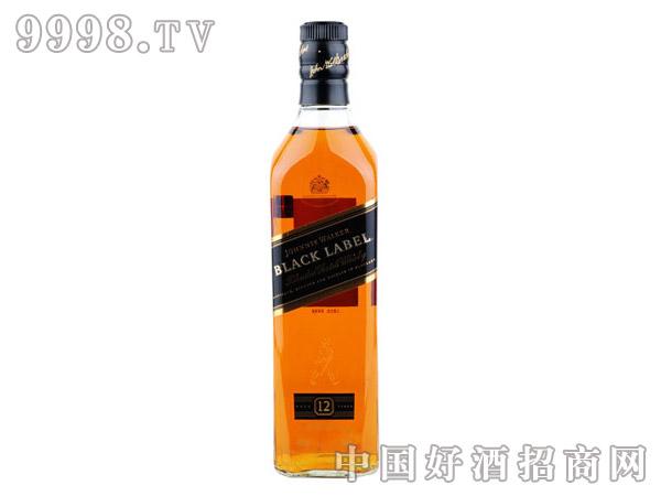 40°英国尊尼获加黑方威士忌