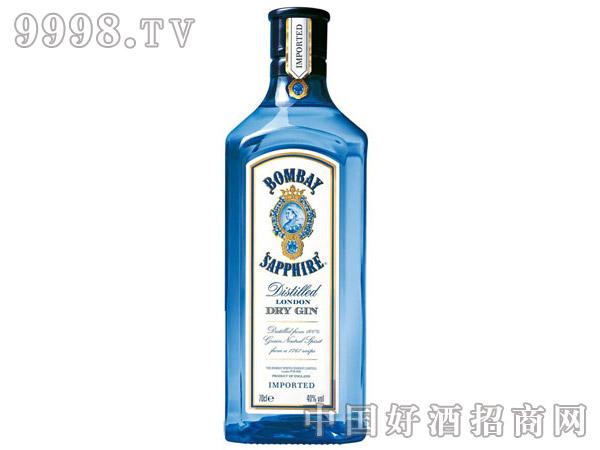 40°孟买蓝宝石金酒