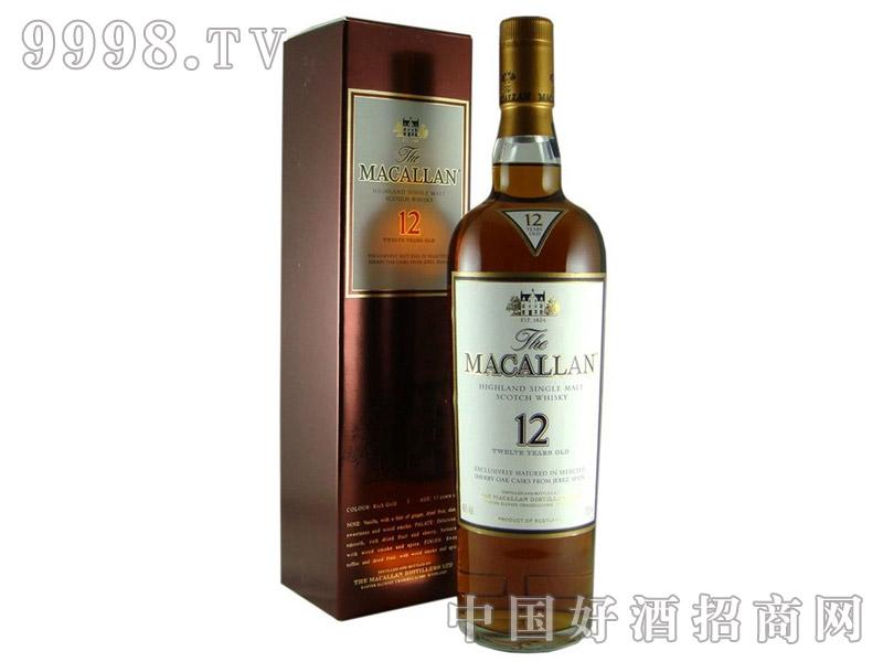 麦卡伦12年威士忌