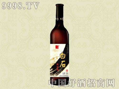 白石黑米酒