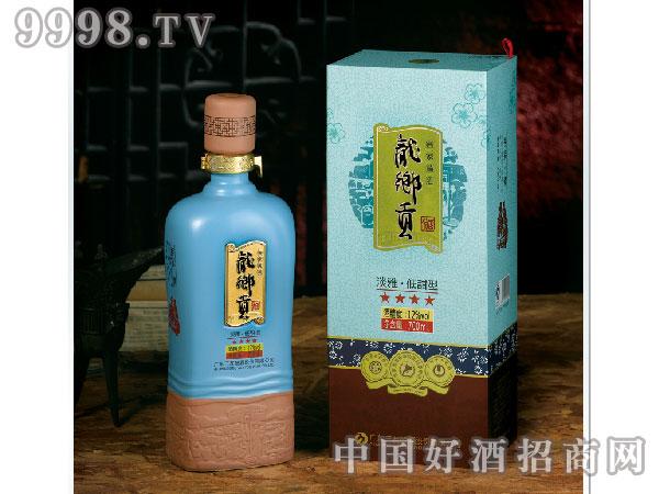 龙乡贡干黄酒4星客家·情700ml客家黄酒