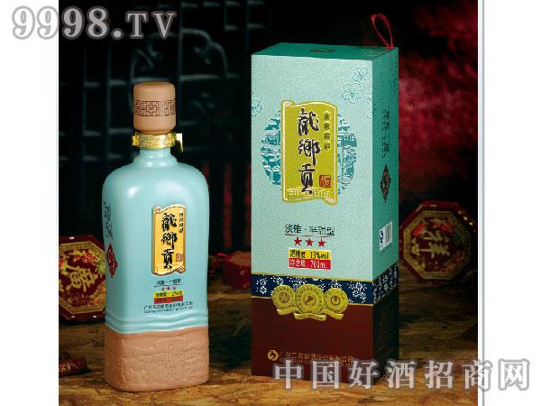 龙乡贡干黄酒3星客家·福700ml客家黄酒
