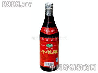 简装玻璃瓶装500ml小花雕绍兴黄酒
