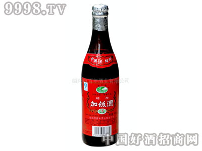 普通型玻璃瓶装500ml绍兴黄酒加饭花雕酒