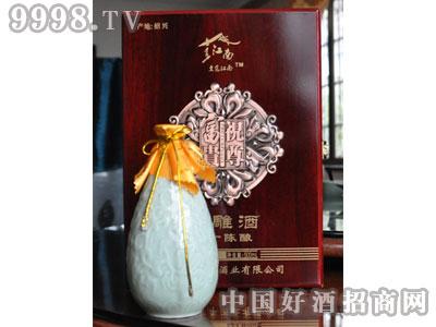 一级品仿红木景德镇瓶礼盒陈酿花雕酒绍兴黄酒