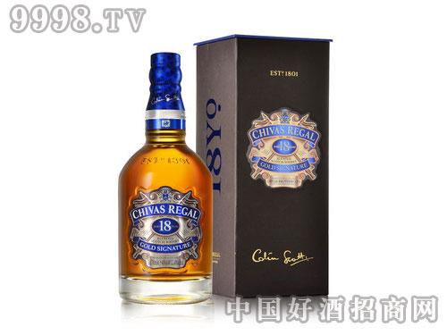 芝华士18苏格兰威士忌700ml