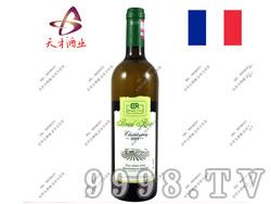 布莱德洛斯霞多丽2009干白葡萄酒
