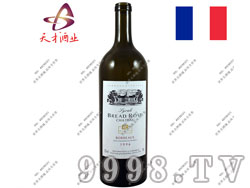 法国布莱德洛斯1996西拉AOC干红葡萄酒