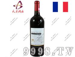 法国布莱德洛斯2002AOC梅鹿辄干红葡萄