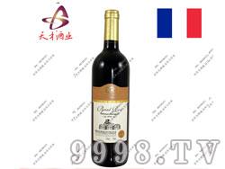法国布莱德洛斯2008赤霞珠干红葡萄酒
