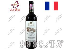 法国布莱德洛斯2009干红葡萄酒