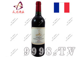 小龙船副牌2010aoc干红葡萄酒
