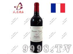 周伯通副牌小城堡AOC级别干红葡萄酒