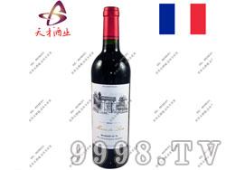 雄狮副牌小城堡2010干红葡萄酒